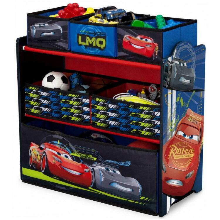 【ママ割エントリーでP5】 デルタ ディズニー ピクサー カーズ マルチ おもちゃ箱 子供 3-6歳
