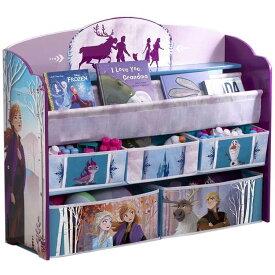 デルタ デラックス 本棚 おもちゃ箱 ディズニー アナと雪の女王2 子供用家具 子供部屋 収納 Delta