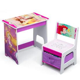 デルタ ディズニー プリンセス デスクセット 子供家具 学習机 椅子セット Delta