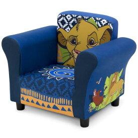デルタ 子供用 ソファー ディズニー ライオンキング アップホルスタードソファ 椅子 1人用 DELTA