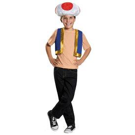スーパーマリオ キノピオ ハロウィン コスチューム コスプレ 男の子 キッズ 子供 ワンサイズ 衣装 Disguise 85229