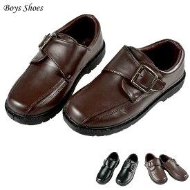【楽天スーパーSALE半額商品】フォーマル靴 男の子 17-23.5cm ブラウン ブラック シューズ