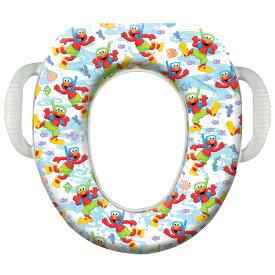 【P2倍・8月8日26時〜+クーポン有】セサミストリート ソフト便座 置くだけ簡単 トイレトレーニング