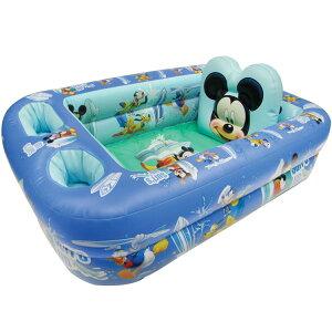ディズニー ミッキーマウス ベビーバス 1歳から お風呂 キャラクター セーフティ バスタブ プール 沐浴用 浴槽