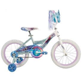 Online ONLY(海外取寄)/ 16インチ ディズニー アナと雪の女王 子供 キッズ ジュニア用 自転車 補助輪付 Huffy 21398