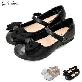 【8月15日限定ポイント5倍】フォーマル 靴 女の子 ホワイト ブラック 13-17.5cm Jelly Beans MILLANA