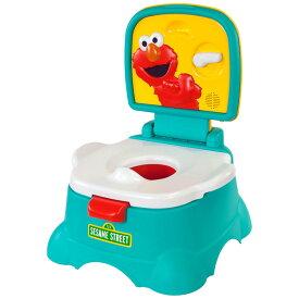 コルクラフト セサミストリート エルモ おまる 3in1 ポッティシート トイレトレーニング Kolcraft