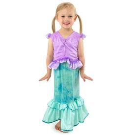 【HW売切市】ハロウィン 衣装 子供 マーメイド 人魚 コスチューム 女の子 100-125cm プリンセス ドレス