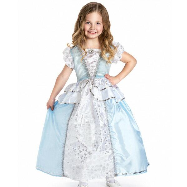 コスチューム 女の子 子供 100-125cm プリンセス シンデレラ ドレス