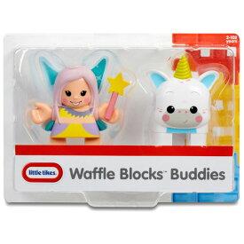 【サマーセール】リトルタイクス ワッフル ブロック おもちゃ フェアリー&ユニコーン 人形セット Littletikes 644030
