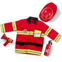 ハロウィン 衣装 子供 消防士 コスチューム 男の子 3歳 4歳 5歳 6歳 小物付き メリッサ&ダグ