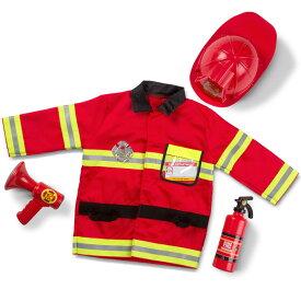 【P5倍・11月25日17時まで】ハロウィン 衣装 子供 消防士 コスチューム 男の子 3歳 4歳 5歳 6歳 小物付き メリッサ&ダグ