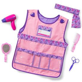 【ハロウィンセール】ハロウィン 衣装 子供 美容師 トリマー コスチューム 3歳 4歳 5歳 6歳 小物付き メリッサ&ダグ