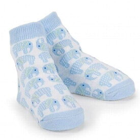 【P2倍・4月9日20時〜+クーポン有】マッドパイ エレファント ベビー ソックス 男の子 0-12ヶ月 靴下