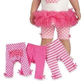 マッドパイ ホット ピンク プレイグラウンド ショーティー レギンス スパッツ 1歳 2-3歳 mudpie 176125