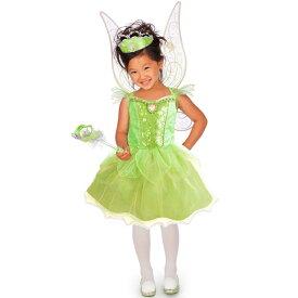 【HWセール】ハロウィン 衣装 子供 ディズニー ティンカーベル コスチューム 105-125cm 女の子