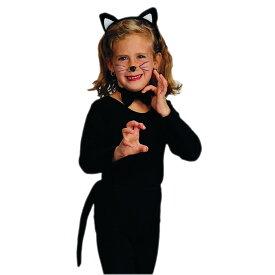 ハロウィン 衣装 子供 ルービーズ ネコ キャット コスチューム アクセサリー 3点 セット 13602