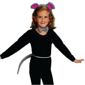 ハロウィン 衣装 子供 ルービーズ ネズミ マウス コスチューム アクセサリー 3点 セット Rubies 13604