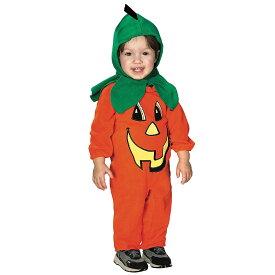 【ハロウィンセール】ルービーズ かぼちゃ パンプキン ハロウィン コスチューム コスプレ 男の子 女の子 衣装 子供 60-80cm Rubies 81209