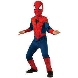 【スーパーセール半額商品】ルービーズ スパイダーマン ハロウィン コスチューム 男の子 105-150cm 衣装 子供 Rubies 880539