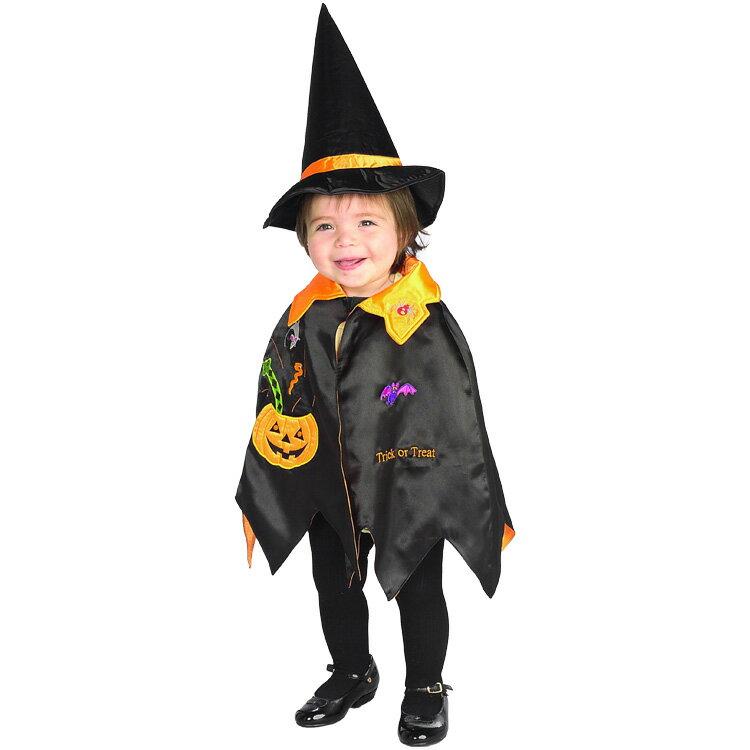 ハロウィン 衣装 子供 ルービーズ かぼちゃ キッズ パンプキン コスチューム マント 男の子 女の子 90-105cm 885242