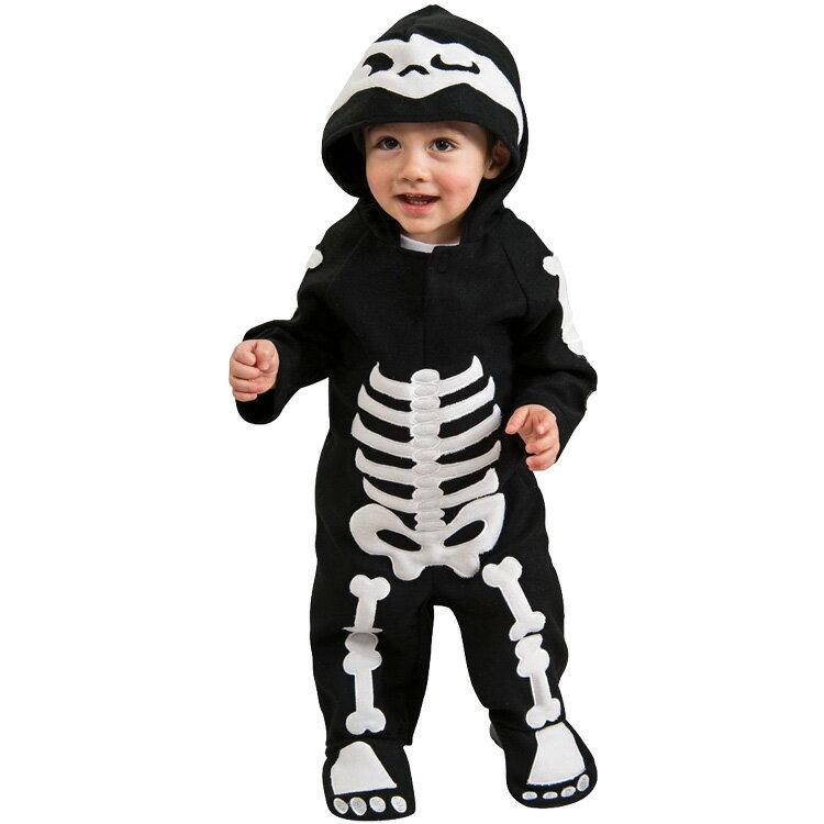 ハロウィン 衣装 子供 ルービーズ スケルトン キッズ ゾンビ コスチューム 男の子 女の子 60-105cm 885990