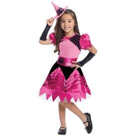 【HWセール】ハロウィン 衣装 子供 ルービーズ Barbie バービー ウィッチ 魔女 コスチューム 女の子 90-135cm 886754