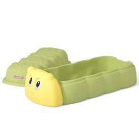 10月上旬入荷予約販売/ 蓋付き サンドボックス 子供 砂場 キャタピラー サンドボックス 1歳から simplay3