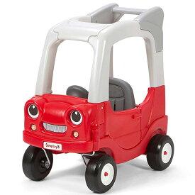 【25日限定クーポン有り】乗用玩具 足けり ライドオン SUV クーペ レッド 1歳半から キッズ カート simplay3 /配送区分A