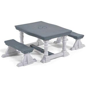 Online ONLY(海外取寄)/ 3点セット キッズ テーブル ベンチセット 4人掛け 子供 デスクセット ステップ2 STEP2/配送区分A