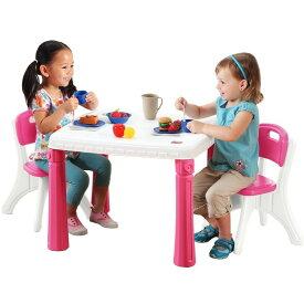 STEP2 キッチン テーブル&チェアー セット ピンク 719600