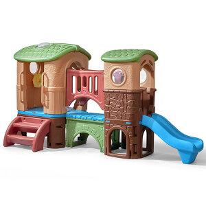 Online ONLY(海外取寄)/ ステップ2 クラブハウス クライマー ジャングルジム 大型遊具 すべりだい STEP2 801200 /配送区分C