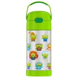 サーモス ステンレス ストロー 水筒 トイストーリー4 ウッディ バズ ディズニー キャラクター THERMOS ステンレス水筒 350ml