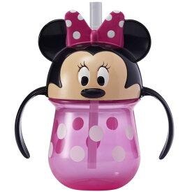 ミニーマウス ハンドル付き ストローカップ TOMY Firstyears トレーニングマグ ファーストマグ ストローボトル ディズニー ミッキー こぼれない 出産祝い 誕生日 お祝い プレゼント ベビー用品 ベビーグッズ