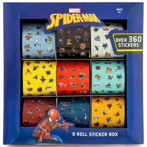 【早夏セール割引商品】スパイダーマン シール 360枚 大容量 LOL ステッカー ごほうびシール