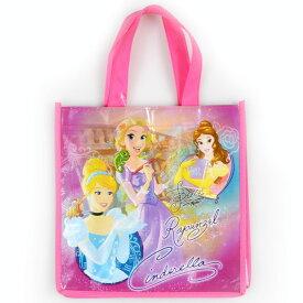 DM便対応/ ハンドバッグ S プリンセス ディズニー キャラクター 手提げ袋 シューズバッグ マチ付き エコバッグ トートバッグ