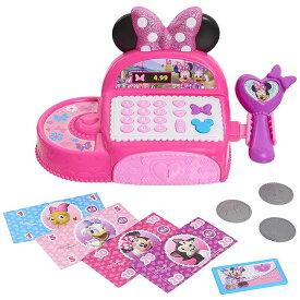 ディズニー ミニーマウス レジ 3歳から お買い物 お店屋さん ごっこ遊び おもちゃ レジスター お店 キャッシャー
