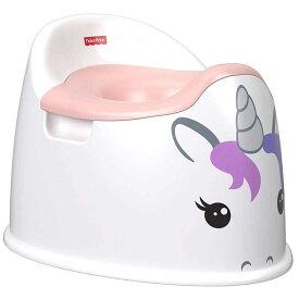 フィッシャープライス おまる かわいい ポッティ ユニコーン ピンク トイレトレーニング イス型オマル
