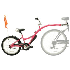 【マラソン限定割引クーポン有】8月下旬入荷予約販売/ 補助自転車 ポタリング 20インチ ウィライド コパイロット ピンク トレーラーサイクル タンデムバイク Weeride 86477