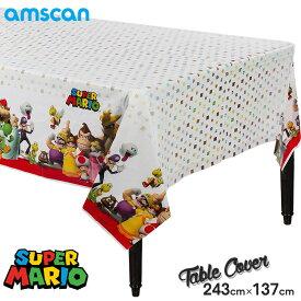 スーパーマリオ 243cm×137cm テーブルカバー アムスキャン
