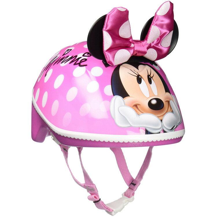 【エントリーで最大P3倍 6/24 23:59まで】 子供用 ヘルメット ディズニー ミニーマウス 3D