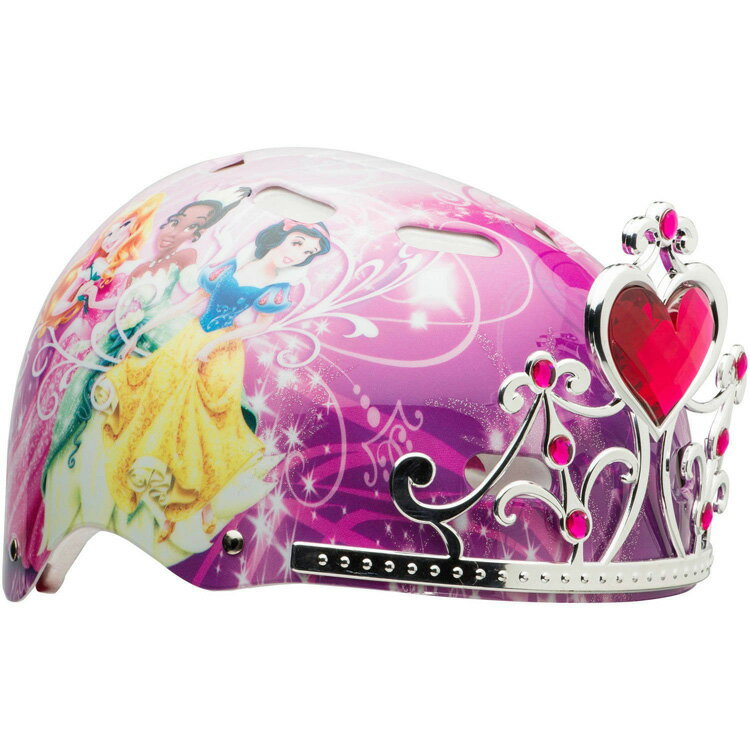 11月上旬入荷予約販売/ 子供用 ヘルメット プリンセス ハードシェル 3D BELL
