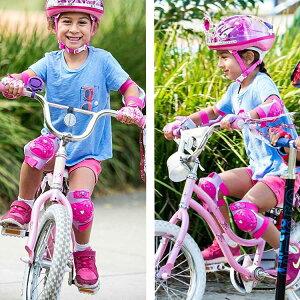 3歳4歳5歳子供用子ども女の子キッズセーフティーグッズグローブ膝パッド肘パッドキャラクターグッズ