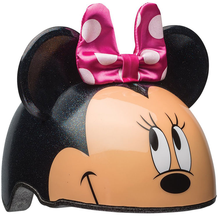 BELL 幼児用ヘルメット プロテクター ディズニー ミニーマウス 3D