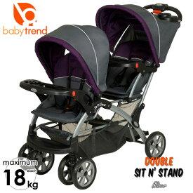 Online ONLY(海外取寄)/ ベビートレンド 2人乗り ベビーカー シットアンドスタンド ウルトラ ダブル エリクサー Baby Trend /配送区分A