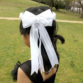 【P2倍・4月9日20時〜+クーポン有】フラワーティアラ 女の子 0038 ホワイト フォーマル ヘアアクセサリー