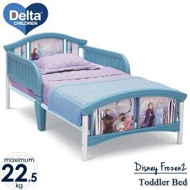 【割引クーポン有】7月上旬入荷予約販売/ デルタ 子供用ベッド ディズニー アナと雪の女王 2 子ども用 トドラーベッド キッズ 幼児 子供部屋 DELTA