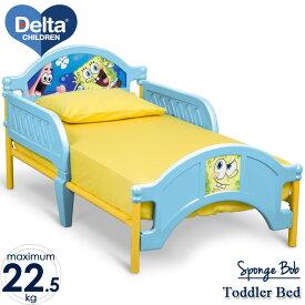 【20日限定クーポン有】3月中旬入荷予約販売/ スポンジボブ 子供用ベッド 3-6歳 デルタ 子供 男の子 女の子 トドラーベッド