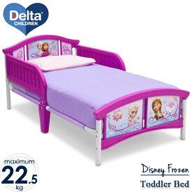 【20日限定クーポン有】3月中旬入荷予約販売/ ディズニー アナと雪の女王 トドラーベッド 子供 女の子 3-6歳 Delta デルタ