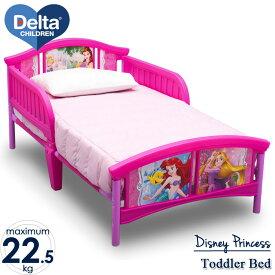 【P2倍・8月4日20時〜+クーポン有】Delta デルタ ディズニー プリンセス 子供用ベッド 女の子 3-6歳 トドラーサイズ